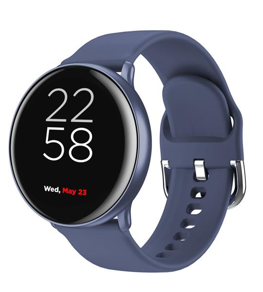 Canyon CNS-SW75BL Marzipan smart hodinky dámske, BT, fareb. LCD displej 1.22´´, IP68, multišport. režim, modré