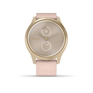 Garmin vivomove Style Light Gold-Blush Pink, Nylon