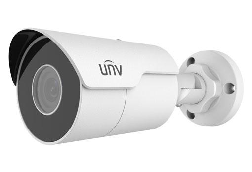 UNIVIEW IP kamera 1920x1080 (FullHD), až 30 sn/s, H.265, obj. 2,8 mm (112,7°), DC12V, IR 50m, ROI, 3DNR, Micro SDXC
