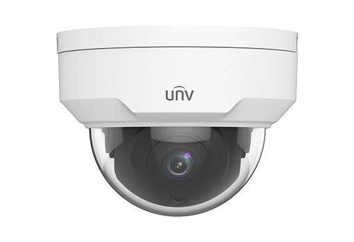 UNIVIEW IP kamera 2592x1520 (4 Mpix), až 20 sn/s, H.265, obj. 2,8 mm (104,4°), PoE, IR 30m ,IR-cut, ROI, 3DNR,antivandal