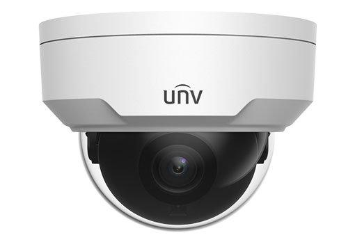 UNIVIEW IP kamera 2592x1944 (5 Mpix), až 20 sn/s, H.265,obj. 2,8 mm (105,6°), PoE, DI/DO, audio, IR 30m, WDR 120dB