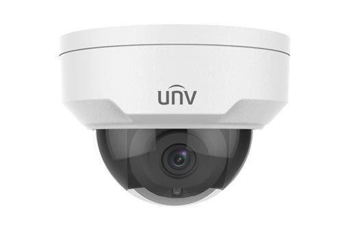 UNIVIEW IP kamera 2592x1944 (5 Mpix), až 20 sn/s, H.265, obj. 2,8 mm (105.8°), PoE,DI/DO, audio, IR 30m ,IR-cut,WDR120dB