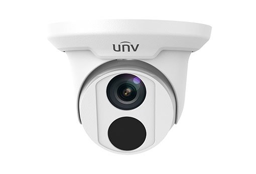 UNIVIEW IP kamera 1920x1080 (FullHD), až 25 sn/s,H.265, obj.2,8 mm (113°),PoE,IR 30m ,IR-cut, ROI, koridor formát (9:16)