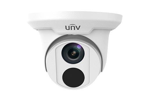 UNIVIEW IP kamera 2592x1520 (4 Mpix), až 20 sn/s, H.265, obj. 2,8 mm (101.8°), PoE,audio, Mic., IR 30m ,IR-cut,WDR 120dB