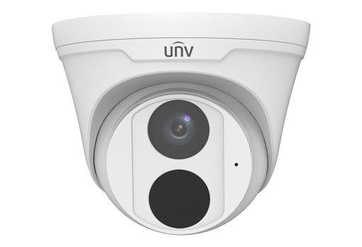 UNIVIEW IP kamera 2592x1944 (5 Mpix), až 20 sn/s, H.265,obj. 2,8 mm (105,6°), PoE, Mic., IR 30m, WDR 120dB, ROI, 3DNR