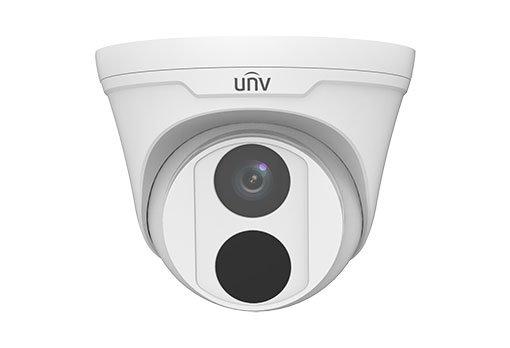 UNIVIEW IP kamera 2592x1944 (5 Mpix), až 20 sn/s, H.265, obj. 2,8 mm (105,3°), PoE, IR 30m , IR-cut, ROI, 3DNR