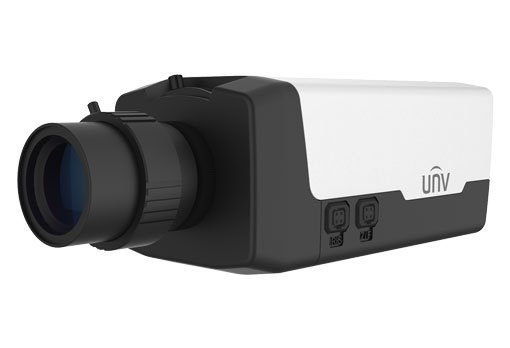 UNIVIEW IP kamera 1920x10800 (FullHD), až 60 sn/s, H.265, DC-Drive, Video Drive, PoE, DI/DO, audio, BNC, SFP slot,RS-485
