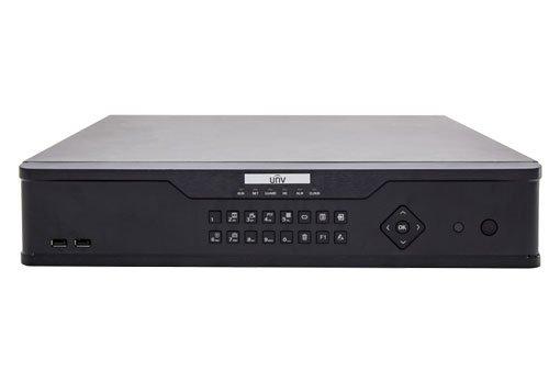 UNIVIEW NVR, 32 kanálů, H.265,8x HDD, RAID 0,1,5,6,10,JBOD,vstup 12 Mpix (max 320 Mbps),prohlížeč 12 Mpix (Max 320 Mbps)