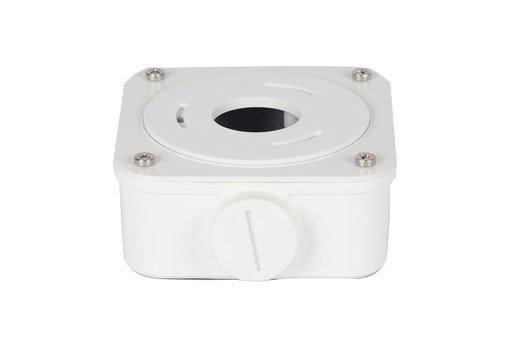UNIVIEW Rozvodná instalační krabice k bullet kamerám s kulatou podstavou nohy. Řada IPC21x8S/E. Rozměry 93mm*93mm*43mm.