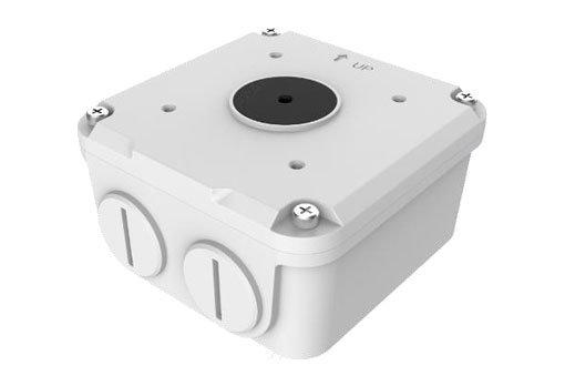 UNIVIEW Rozvodná instalační krabice pro kamery řady IPC22xx/23xx/26x. Rozměry 104mm*104mm*55.5mm.