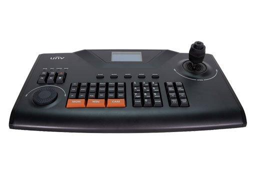 UNIVIEW IP klávesnice pro ovládání PTZ kamer UNIVIEW, LCD display, RJ-45 10/100, USB 2.0., RS-232, RS-485