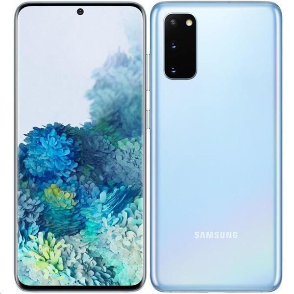 Samsung GALAXY S20+, 128 GB, Dual SIM, modrá