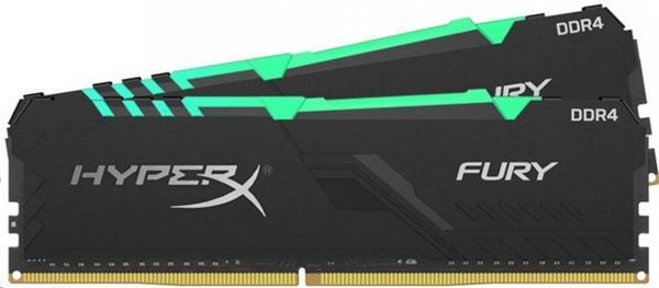 DDR 4.... 32GB . 2666MHz. CL16 HyperX FURY RGB Kingston (2x16GB)