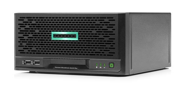 HP ProLiant MicroServer Gen10 Plus E-2224 3.4GHz 4-core 16G S100i 4LFF-NHP 180W External PS Server