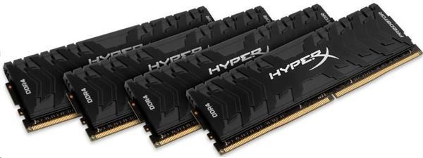 DDR 4.... 64GB . 3333MHz. CL16 HyperX Predator Black Kingston XMP (4x16GB)