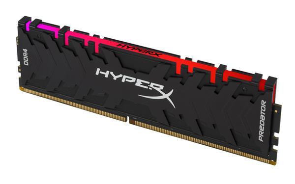 DDR 4.... 8GB . 3333MHz. CL16 HyperX Predator RGB Kingston XMP