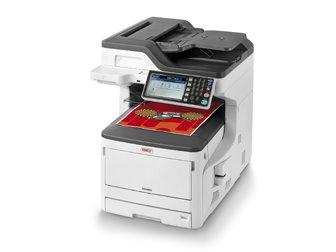 OKI MC883dn farebne A3 MFP, DUPLEX, HDD, SCAN, COPY, FAX, NET/wifi,