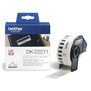 BROTHER DK22211 Continuous Film Tape (Biela 29mm)