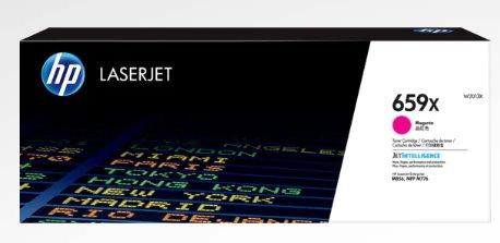 HP 659X High Yield Magenta Original LaserJet Toner Cartridge
