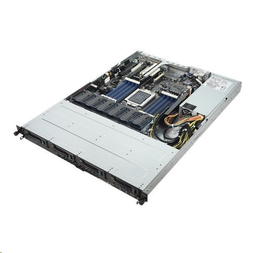 ASUS Serversystem RS500A-E9-PS4 1U server 1x 7261,Epyc 16x DDR4 ECC R, 4x SATA HS (3,5