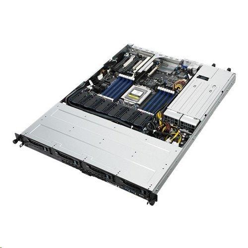 ASUS Serversystem RS500A-E9-RS4 1U server 1x7351Epyc 16x DDR4 ECC R, 4x SATA HS (3,5
