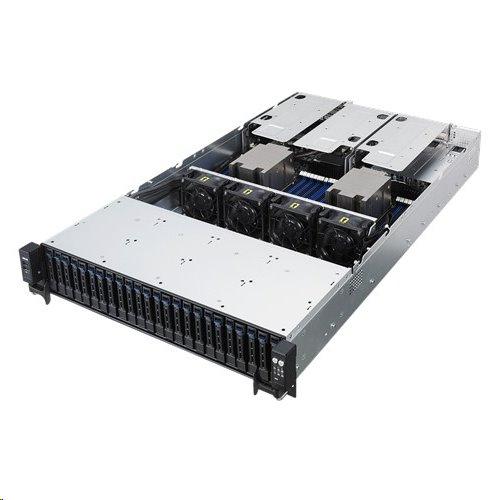 ASUS Serversystem RS720A-E9-RS24-E 2U server 2x7351Epyc 16x DDR4 ECC R, 24x SATA HS (2,5