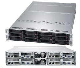 Supermicro Server AMD AS-2014TP-HTR 4xnode AMD EPYC™ 7002-Series 2U rack