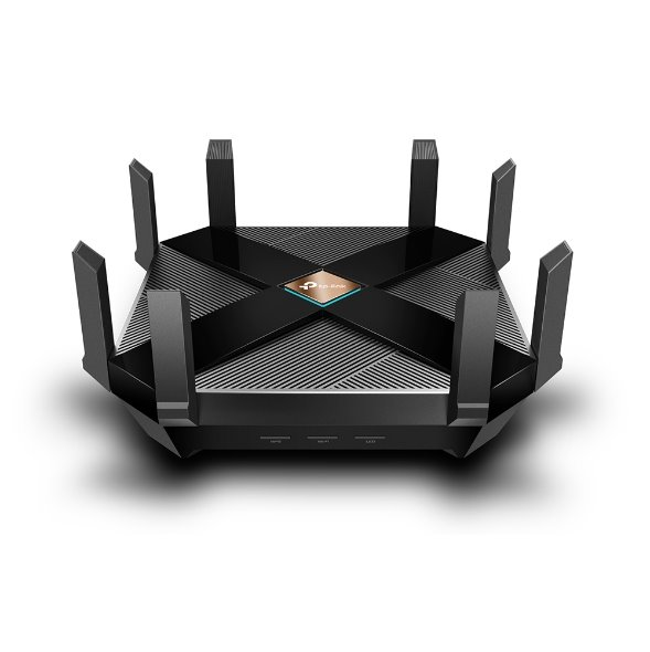 TP-LINK AX6000 Next-Gen Wi-Fi Router, Broadcom 1.8GHz Quad-Core CPU, 4804Mbps at 5GHz+1148Mbps at 2.4GHz, One 2.5Gbps WA