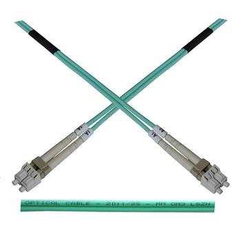 OEM opt. duplex kabel MM 50/125, LC/LC, LSOH, (OM3), 10m
