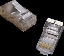 OEM STP konektor OPTIX 8P8C, Cat.5e, drôt, balenie 100ks