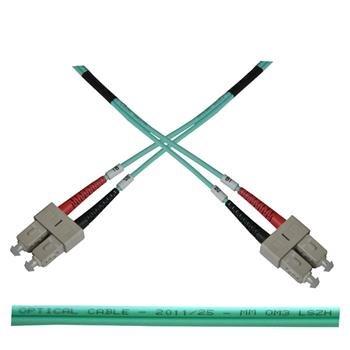 OEM opt. duplex kabel MM 50/125, SC/SC, LSOH, (OM3), 10m