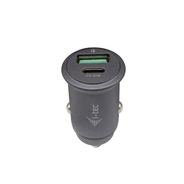 i-tec Car Charger QC and USB-C PD 30 W