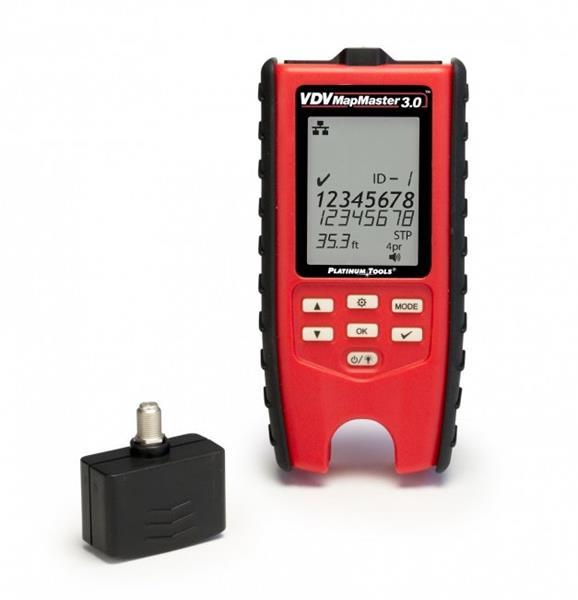 PLATINUM TOOLS VDV MapMaster 3,0® T130 tester metalických káblov