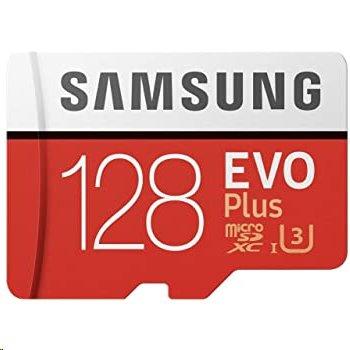 256 GB . microSDXC karta Samsung EVO Plus + adapter