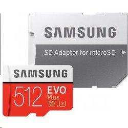 512 GB . microSDXC karta Samsung EVO Plus + adapter