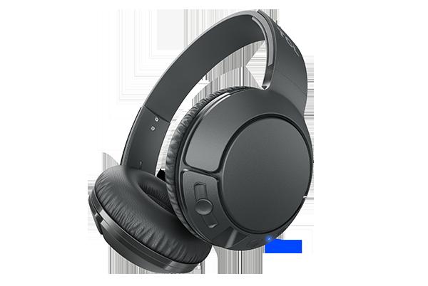 TCL MTRO200BT Bezdrôtové náhlavné slúchadlá s mikrofónom, doba prehrávania až 20 hodín, čierne
