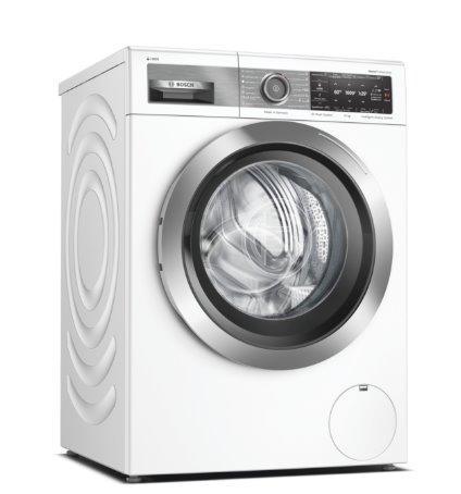 BOSCH_HomeProfessional, Spredu plnená práčka, 10 kg, 1600 otáček za minutu