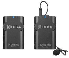 Boya Wireless Microphones, 1 prjímač/1 vysielač
