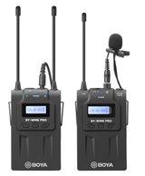 Boya UHF Wireless mic, 1 prjímač/1vysielač