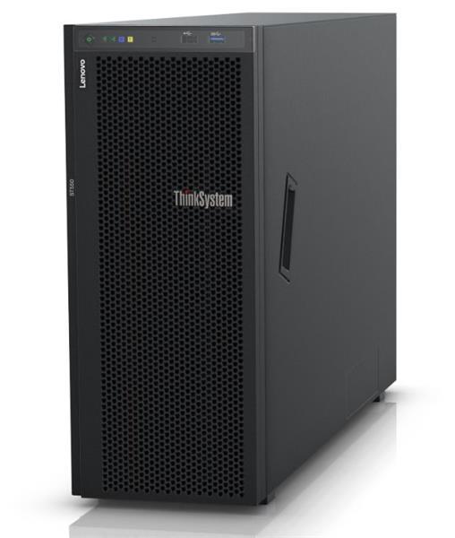 Lenovo Server ST550 Xeon Silver 4210R (10C 2.4GHz 13.75MB Cache/100W) 16GB 2933MHz (1x16GB, 2Rx8 RDIMM), O/B, 930-8i, 1