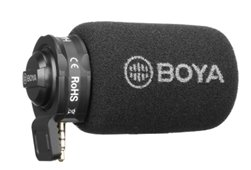 Boya lug on microphone for USB TYPE-C Android devices