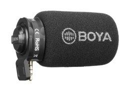 Boya Plug on microphone for iOS devices