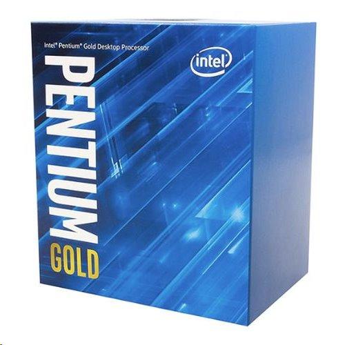 Intel® Pentium®, Gold G6400-4.00GHz,4MB,LGA1200, BOX, HD Graphics 630