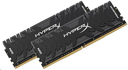 DDR 4.... 64GB . 3600MHz. CL18 HyperX Predator Black Kingston XMP (2x32GB)