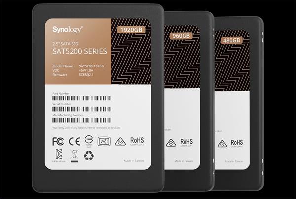 "Synology™ 2.5"" SATA SSD SAT5200 480GB"