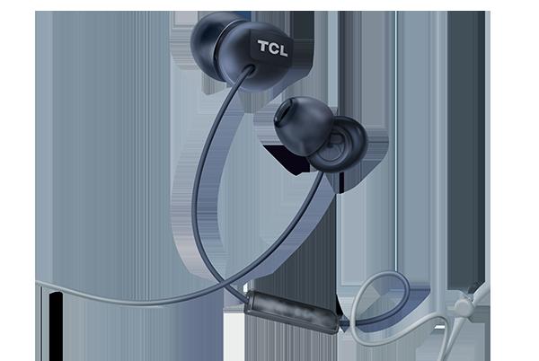 TCL SOCL300 štupľové slúchadlá s mikrofónom, cierne