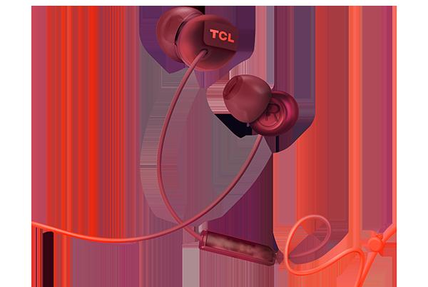 TCL SOCL300 štupľové slúchadlá s mikrofónom, Sunset orange