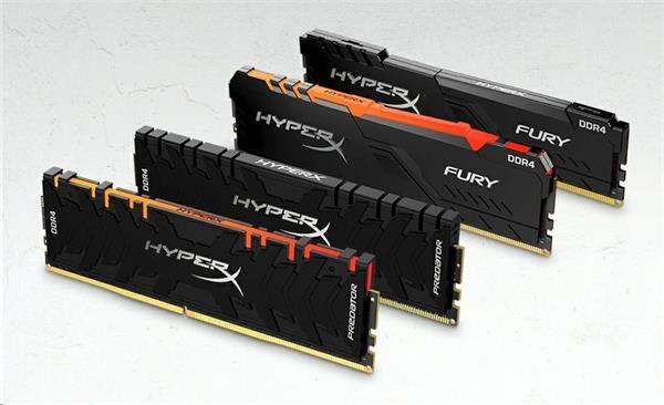 DDR 4.... 32GB . 3466MHz. CL17 HyperX FURY RGB Kingston