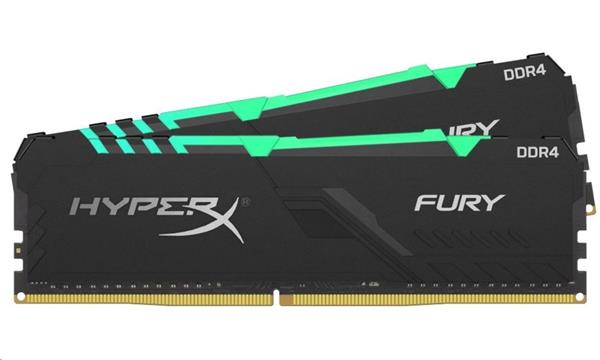 DDR 4.... 64GB . 3200MHz. CL16 HyperX FURY RGB Kingston (2x32GB)