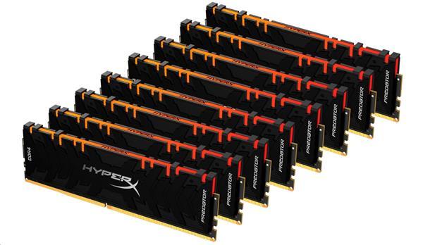 DDR 4.... 64GB . 3200MHz. CL16 HyperX Predator RGB Kingston XMP (2x32GB)
